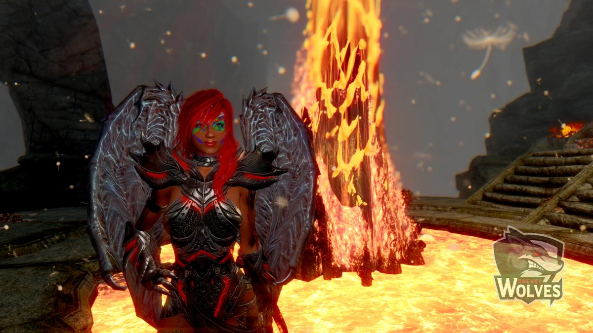 Skyrim Nalia - Lava Dungeon Pusteblumen
